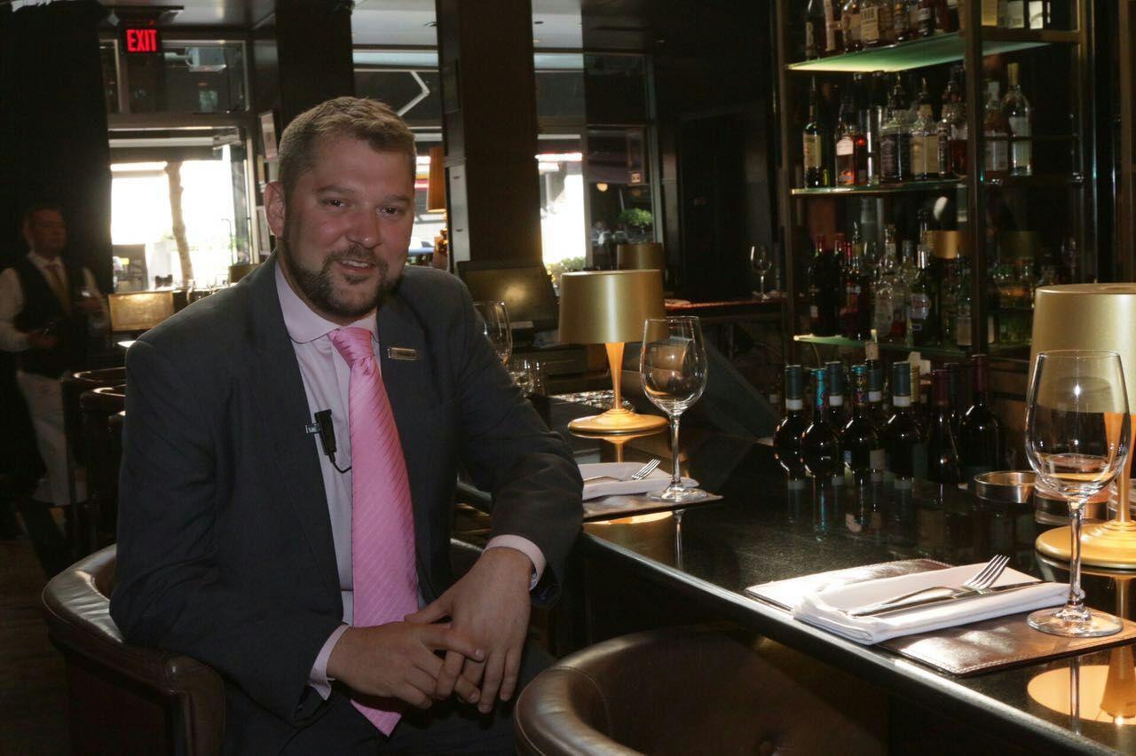 Franck Krynen, Wine Education Director and Sommelier, Glowbal Group