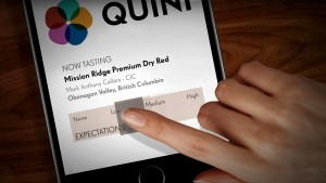 Quini Wine Tasting and Rating App